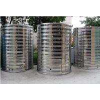 厂家定制不锈钢消防水箱圆形水箱