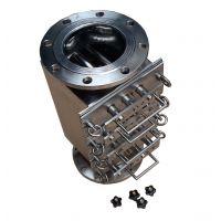 管道式钕铁硼强磁粉料除铁器