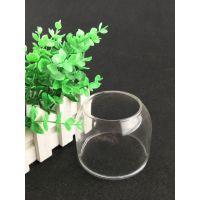 厂家直销人工吹制高硼硅透明玻璃罩