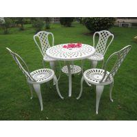 户外铸铝桌椅庭院花园家具室外阳台铸铝桌椅