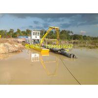 郊区河道清淤船可选择液压铰刀施工