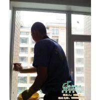 博山区擦玻璃公司|乐邦保洁|擦玻璃公司广告