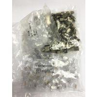 AMP水晶头 安普六类水晶头 6-2111979-3 屏蔽RJ45水晶头100个