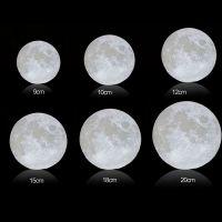 国内依迪姆3d打印厂家定制3d打印月球灯创意礼品diy高端节日礼物定制