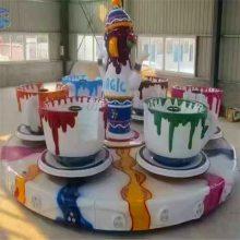 好玩有趣的儿童游乐设备咖啡杯kfb三星游乐园设备公司直销