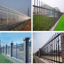 湛江铁围墙护栏价格 清远围墙铁栅栏价格 清远项目部隔离栅