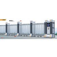 《网状伸缩门电动门》厂家,规格齐全 安全可靠,坚固耐用 用好心造好门