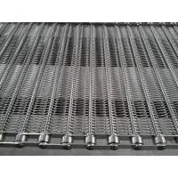 食品生产流水线304不锈钢支杆式网带