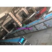 钢基链餐盘输送机,中央厨房传送带