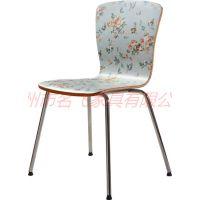 石嘴山食堂桌椅,简约现代茶餐厅桌椅定制多色可选
