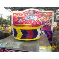 通化公园刺激好玩招人气的疯狂迪斯科转盘游乐设备创艺惊喜价推出