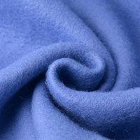 40S针织面料单面绒布95%涤5%氨纶抓毛布