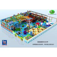 供应儿童乐园设备 开欣童伴淘气堡加盟 新型积木城堡乐园