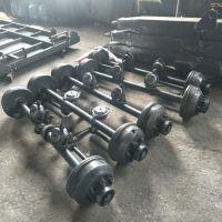 达丰机械生产各种平板拖车车轴 拖拉机拖斗挂车后桥总成 支持各种规格定制气刹油刹轴