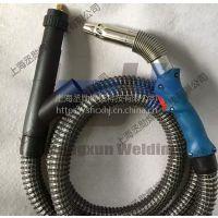 上海环保焊枪供应-500二保焊气冷除尘焊枪厂家
