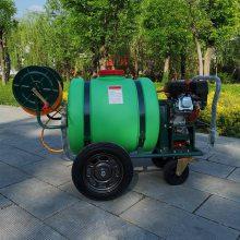 供应推车式拉管喷雾器农用果树高压打药机园林绿化杀虫农药喷洒机