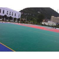 呼和浩特足球场笼式防滑拼装悬浮地板河北冀湘冠
