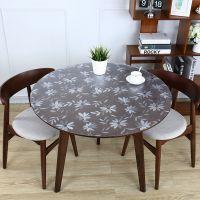 透明软玻璃圆桌桌布防水防油免洗家用台布酒店饭店餐厅餐桌垫