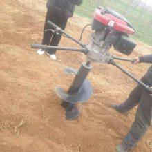 南宁市太阳能电线杆钻坑机 启航牌沙土质硬土层打孔机 园林植树挖坑机厂家