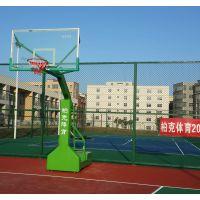 校园小区篮球架怎样安装 珠海钢化透明篮球板哪里有卖 柏克厂家直销