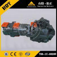 小松原装配件风扇马达 PC650-8风扇泵708-1U-00200 小松挖掘机配件