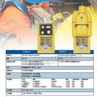 (中西)便携式五合一可燃气体测定仪 泵吸式 型号:BY43-M40PRO(YCM特价)