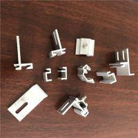耀恒 耳朵型角码安装铝合金挂件 R型大理石铝挂件价格 幕墙配件