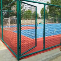 篮球厂护栏厂家 运动场地围网设计图 操场菱形网护栏