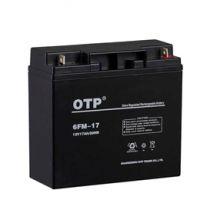 OTP蓄电池6FM-17 OTP电池价格规格/12V17AHEPS直流屏专用