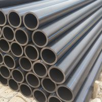 高压力pe给水管200现货 打孔渗水管生产厂家