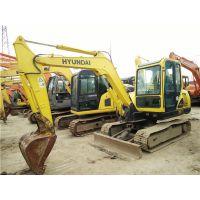 现代二手挖掘机-现代55挖掘机现货底价出售,可随时试机验机