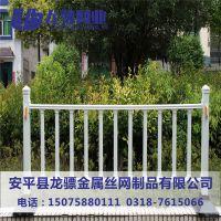 塑钢花池隔离栏杆 小区绿篱草坪铁围栏 绿篱草坪铁围栏
