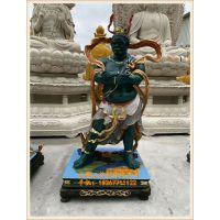 佛教十二药叉神将塑造厂家,玻璃钢彩绘十二神将佛像生产厂家