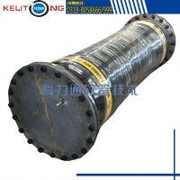 低价出售大口径矿用吸排水胶管 法兰式大口径排吸泥疏浚胶管