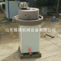 石磨豆浆机 绿砂岩电动观赏型石磨机 米浆磨 振德牌