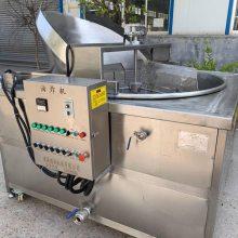 顺泽机械专业供应跳跳鱼油炸机 油水分离油炸机