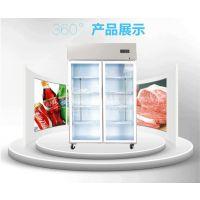 厂家供应玻璃门冷藏柜,便利店酒水饮料冷藏展示柜,定做欣蒙冷藏柜, 展示冷柜