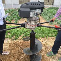 大型螺旋钻坑机 土钻植树打眼机 手提式挖坑机厂家批发