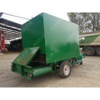 四川畜牧养殖专用撒料车 液压传送的撒料车润众