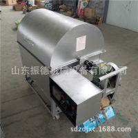 大型滚筒炒货机  超市花生坚果炒货机 振德供应 家用小型炒货机