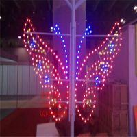 灯光节拱门隧道灯 LED灯串 异形造型灯 平面蝴蝶图案灯