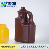 鸿盛 广东厂家直销 量大从优可定制 吹瓶专用吹瓶专用食品级PP色母粒(棕色)
