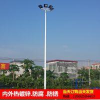 贵阳篮球场照明灯杆厂家 室外标准球场灯光布置 6米球场灯杆价格