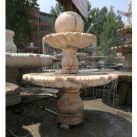 曲阳石雕风水球_大理石石雕风水球喷泉价格_永权雕塑