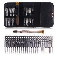 25合1组合螺丝批 多功能螺丝刀 手机笔记本眼镜维修拆机工具套装