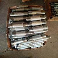生产不锈钢单头螺纹短节 双头螺纹短节 304 保材质