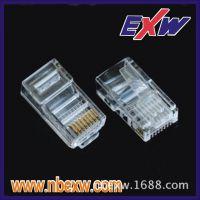 供应厂家直销质量过关8P4C(3.4.5.6)水晶头