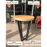 星巴克吧台桌尺寸 星巴克吧凳上海韩尔家具工厂直销