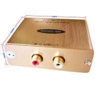 音频隔离器RCA音频降噪器HIFI音频 消除电流声音响噪声滤波器 AV调音台电源杂音电流声抗干扰