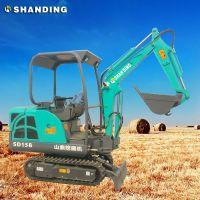 福建农用小挖机 山鼎农用小型挖掘机